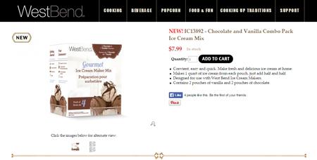Chocolate and Vanilla Combo Pack