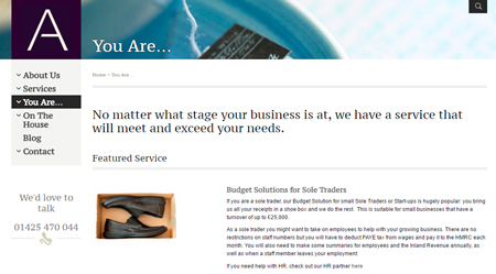 Budget Solutions for Sole Traders