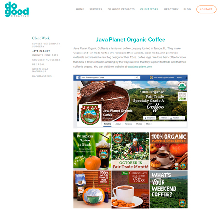 Java Planet Organic Coffee
