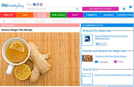 Lemon Ginger Tea Recipe